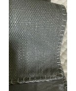 Table Runner 16 in x 72 in. Silver color. Lined. Lurex whipstich. Mario ... - $16.50