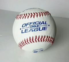 Rawlings CROLB Official League Baseballs.Leather Cover Solid cork rubber center - $6.16