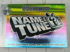 Imagination Name That Tune 80's Edition DVD Board Game 2005 Sealed - $27.99