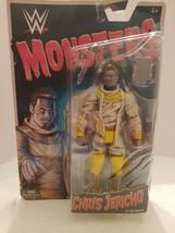 WWE Monsters Chris Jericho As Mummy __  Wrestling Action Figure Toy Mattel (2) - $14.14