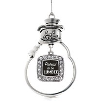 Inspired Silver Proud To Be Lumbee Classic Snowman Holiday Decoration Christmas  - €12,87 EUR