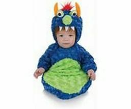 Underwraps Belly Babies Buntings Monster Kid's Halloween Costume New - $19.79