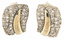 Women's .925 Silver and Gold Earrings - $49.00