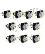 10 PCS of Condenser Fan Motor fit GE General Electric Refrigerator WR60X... - $144.05