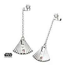 Disney Star Wars Base Metal  Enfys Nest Fan Stainless Steel Dangle Earrings - $31.00