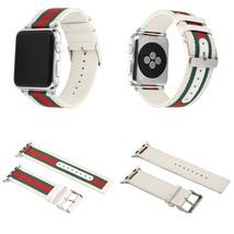 38Mm Apple Watch Band Strap Gucci Pattern Sport Replacement Wrist Brace ... - $25.96