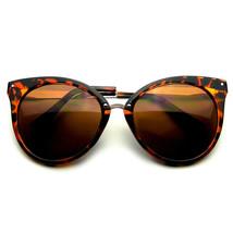 Spitz Horn Umrandeten Indie Retro Katzenaugen Sonnenbrille Metall Nieten - $8.50