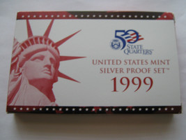 1999 Unites States Mint Silver Proof Set - $123.75