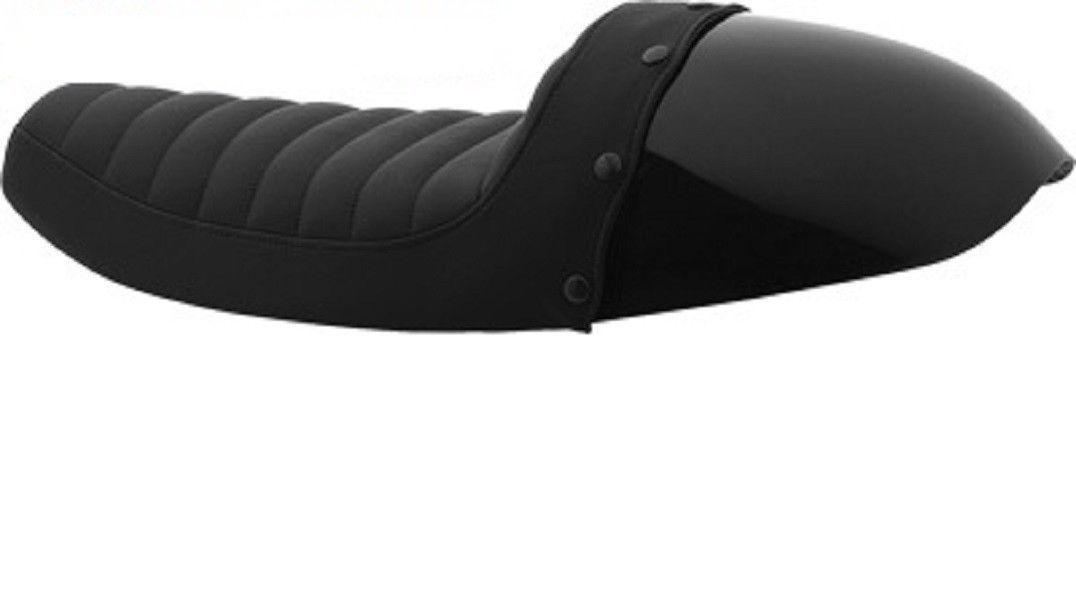 Burly Brand Cafe Solo Tail Section / Partial Cover Seat for 1986-2003 Sportster