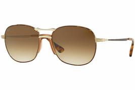 Autentico Persol Occhiali da Sole PO2449S 1075/51 Havana Oro Montatura M... - $118.80