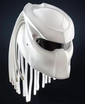 New Predator Helmet Full White Style (Dot & Ece Certified) - $250.00