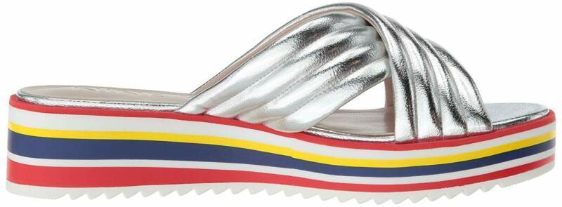 Nine West Women'S Zonita Synthetic Flat Sandal
