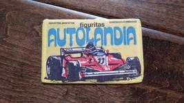 1982 Chicle Globo Topps Bazooka F-1 Formula 1 Autolandia Figuritas Wrapp... - $50.01