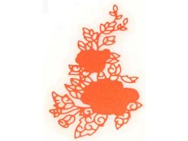 Lacy Florals cutting Die image 2