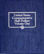 Whitman Classic Coin ALBUM United States Commemorative Half Dollars Volu... - $24.11