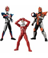 BANDAI CHODO Ultraman 3 10pcs All 6 Set Figure w/Tracking# Japan New - $55.95