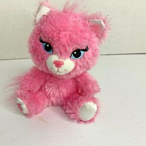 Build A Bear Buddies Pink Sparkle Kitty Kitten Cat Plush Stuffed Animal ... - $13.99