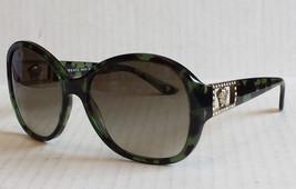VERSACE Women Sunglasses Black Lens Green Tortoise Frame Butterfly Italy... - £131.31 GBP