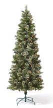 7.5ft Pre-lit Artificial Christmas Tree Slim Virginia Pine with Clear Lights NIB image 4