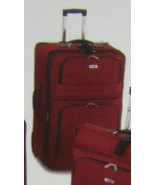 """KENNETH COLE REACTION """"GET RICH QUICK"""" 2 WHEELES RED EXPANDABLE SUITCASE... - $289.90"""