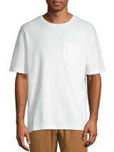 No Boundaries Men's Short Sleeve Thermal T-Shirt Pocket SMALL (34-36) Wh... - $15.83