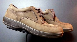 Men's Rockport Brown Snuff Suede Casual Cool Oxford Sz. 10M NICE! - $33.05