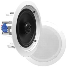 Pyle Home Pdic In-wall And In-ceiling 2-way Flush-mount Speakers With 70... - $78.11