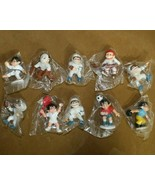 Mix Lot of 10 Vintage 1983 Sport-Billy Productions PVC Action Figures,Ho... - $34.60