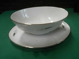 "ROSENTHAL Selb-Plossberg Bavaria Germany Ceres ""Wheat"" Attached GRAVY SA... - $27.31"