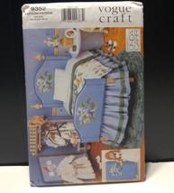 """Vogue Craft 9352 18"""" Doll Pattern Bedroom Furniture Bedspread  Linda Carr - $14.01"""