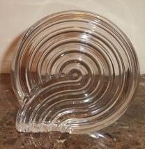 Rosenthal Studio Line Crystal Spiral Paperweight Art Sculpture - $25.00