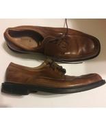 Florsheim Brown Pebbled Leather Dress Shoes Men's size 12M - $23.38