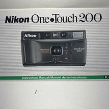 Nikon One Touch 200 Camera Instruction Manual Photography - $6.75