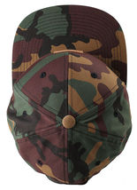 Akomplice Camo Black Flamingo Mob Est. 2004 Label Patch Snapback Baseball Hat NW image 6