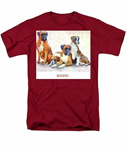 Primary image for Boxer Quartet - Men's T-Shirt (Regular Fit) - Cardinal/Small