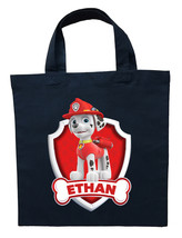 Paw Patrol Marshall Trick or Treat Bag, Custom Paw Patrol Marshall Hallo... - $11.99+