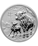 Silver coin Lunar series III.Silver coin as a gift with every purchase - Freebie