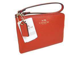 Coach Signature Wristlet Hand Bag Purse Genuine... - $49.48
