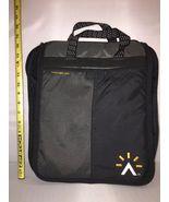"Black Ogio Ameritrade Laptop Tablet Travel Case Bag 14 X 12"" EUC - $25.31"