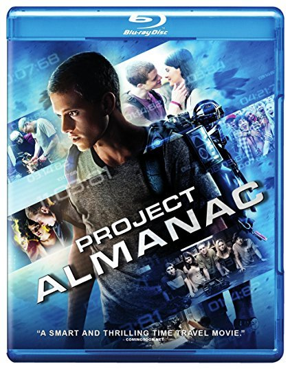 Project Almanac [Blu-ray + DVD] (2015)