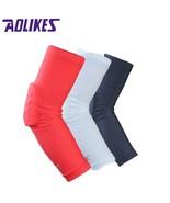 AOLIKES 1PCS  Honeycomb Sponge Basketball Arm Sleeves Anti-crash Compres... - $14.30
