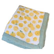 """TEALP Muslin Stroller Blanket -Bamboo Summer Blanket for Toddler - Oversized 47"""""""
