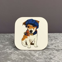 Jack Russel Coaster,Gifts For Dog Lovers,Mothers Day Gifts,Terrier,Dog,Gifts - $6.80