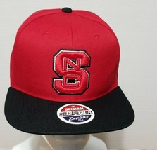 Ncaa Zephyr Norh Carolina Snc Adult Adjustable Snapback Hat,Cap Black Red New - $22.50