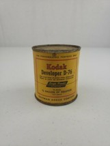 Nos Vintage Kodak Developer D-76 Powder For Film And Plates Makes 1/2 Gallon - $10.00