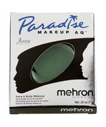 Mehron Paradise Makeup AQ Refill Size Basic Series .25 oz Dark Green - $8.52