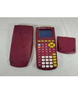 Texas Instruments TI-82 Stats. French Calculator purple edition works (bw) - $29.70