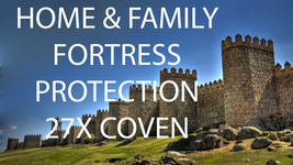 Haunted 27x FULL COVEN HOME & FAMILY FORTRESS PROTECTION Magick 98 Witch CASSIA4 - $23.89