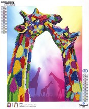 "Leisure Arts Diamond Art Advanced Kit 14.57""X18.5""-Giraffe - $27.26"