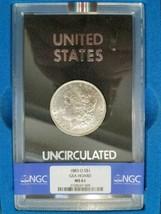 1883 O Silver Morgan Dollar NGC MS 61 GSA Hoard Hard Pack Non Carson Cit... - $259.99